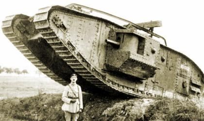 Image result for british mark 5 tank