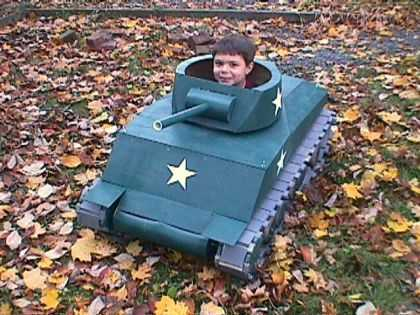 Tank Commander Billy!